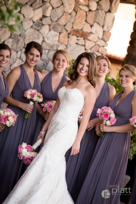 Paradise Valley Country Club Wedding. Arizona wedding planner.