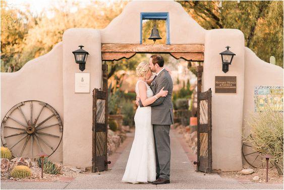Hacienda Del Sol Wedding. Tucson, Arizona Wedding Planner and Crain and Co Events.